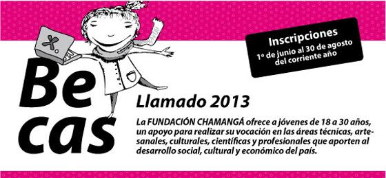 Becas de Fundación Chamangá